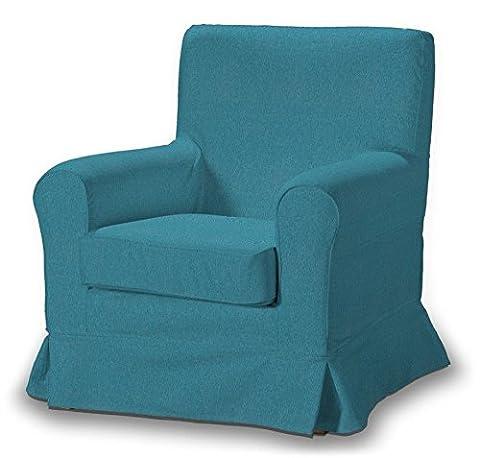 Dekoria Fire Retardant IKEA EKTORP JENNYLUND–Housse de fauteuil–Turquoise/Bleu
