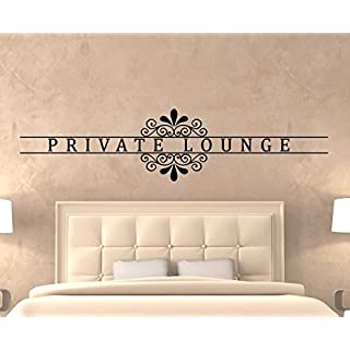 arslinea Wandtattoos - Private lounge, 140x33 cm, gold
