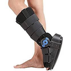 ZFAME Einstellbare Knöchels Fixation, Bruchstützten Fuß- und Knöchelfraktur, akuter Knöchelverstauchung, postoperative Betreuung,L