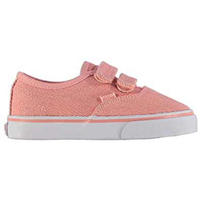 SoulCal Kinder Sunset Strap Babys Turnschuhe Canvas Flach