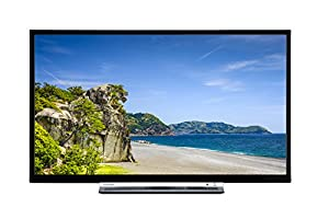 Toshiba 24D3753DB 24-Inch HD Ready DVD Smart TV with Freeview Play - Black-P