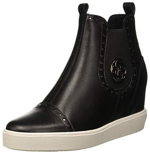 Guess Damen Freddie Chelsea Boots, Schwarz Black, 38 EU (Guess Jeans Boot)