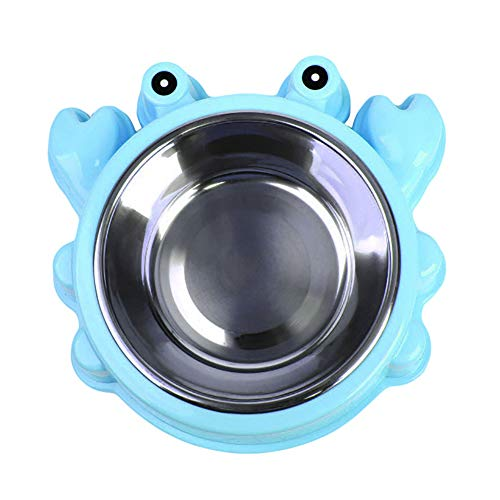 xMxDESiZ Elefante Form Pet Schüssel Cibo Wasser Behälter aus Edelstahl Hund Katze Feeder -