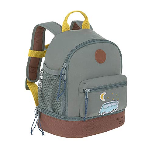 Lässig Adventure Bus Sac à Dos Enfants, 27 cm, Bleu