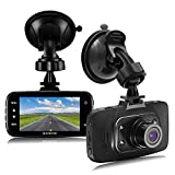 "Senwow Dash Cam (8GB Card Included) 1080P Full HD Car Camera 2.7"" LCD Driving Video Recorder Dashboard DVR Built In G-Sensor, Loop Recording, Night Vision, Parking Monitor, Motion Detection, WDR"