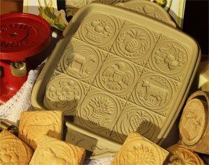BROWN BAG AMERICAN BUTTER SHORTBREAD COOKIE PAN by BROWN BAG DESIGN Brown Bag Shortbread Pan
