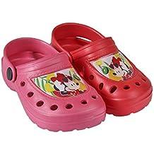 Disney Minnie Mouse zueco de playa Crocs Niñas