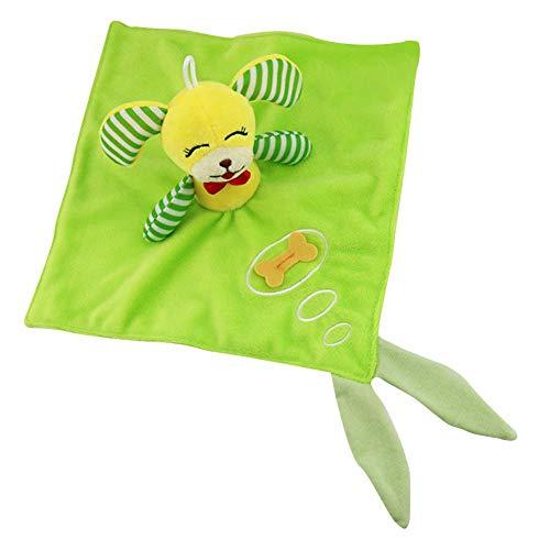 Coseyil Beschwichtigen Puppe Baby Tier Beschwichtigen Handtuch Plüschtier Für 0-2 Jahre Alt Baby Handgriff Beschwichtigen Puppe PP Baumwolle
