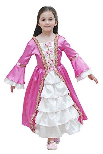 Preisvergleich Produktbild Marie Antoinette - Kids-Kostüm - 3-5 Jahre (98-110cms) [Spielzeug]