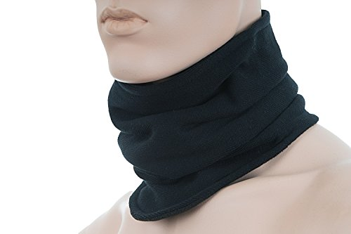 Hilltop-Polar-Multifunktionstuch-mit-Fleece-Kopftuch-Halstuch-viele-Farben-Farbe-Polar-TuchSchwarz-uni