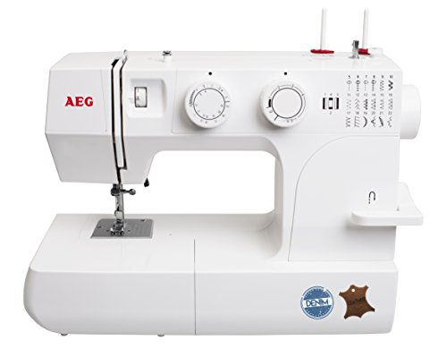 AEG Nähmaschine 145 DL - für das Nähen mit Jeans & Leder