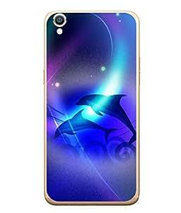 PrintVisa Designer Back Case Cover for Oppo F1 Plus :: Oppo R9 (Fishes In Blue Sea)