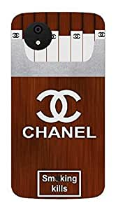 UPPER CASE™ Fashion Mobile Skin Vinyl Decal For Micromax Canvas A1 [Electronics]