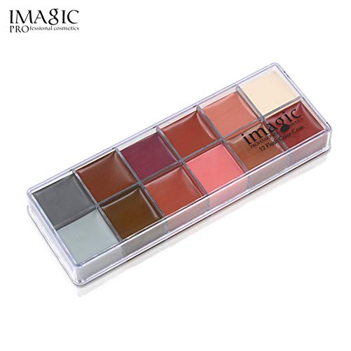 pigment Gesichtsfarbe Ölgemälde Kunst Make Up Pinsel Halloween ()