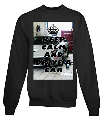 Billion Group | Drive A Car | Women's Unisex Sweatshirt Noir