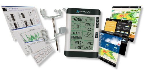 Weather Station Wireless Professional WS2083 with Internet Upload + Free Beginner's Guide