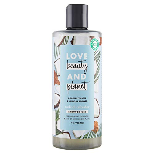 Love Beauty & Planet Bagnodoccia Blau 500 ml Coconut&Mimosa (3er Pack) -