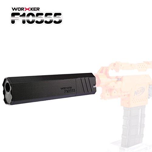 FOKOM WORKER F10555 3DP Dagger Schalldämpfer Barrel Adapter Upgrade Kit Zubehör für Nerf