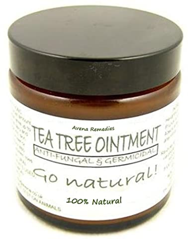 100% Natural Healing Tea Tree Ointment: for nail infections, athletes