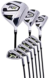 Pinemeadow Men's Pgx Golf Set-driver, 3 Wood, Hybrid, 5-pw Irons (Regular Flex) (Right)