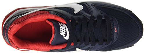 Nike Jungen Air Max Command (Gs) Low-Top Mehrfarbig (Obsidian/White/University Red 416)