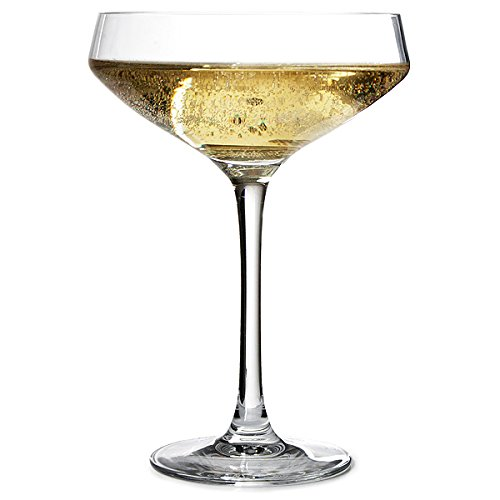 Chef & Sommelier ARC N6815 Cabernet Sektschale, Sektglas, 300 ml, Krysta Kristallglas, transparent, 6 Stück