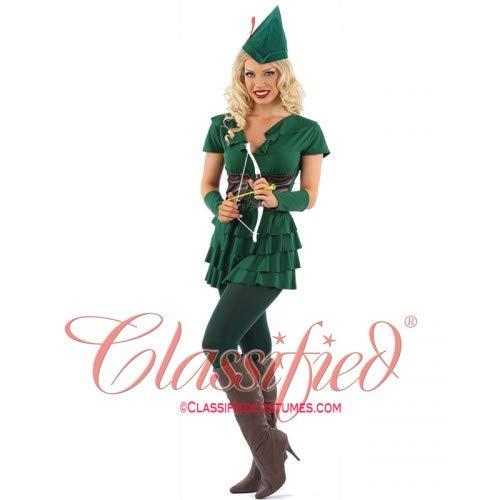 Classified Legs Galore Kostüm für Waldangriffe, Größe L