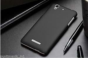 Black Dark Color Hard Back Case Cover For Micromax Yu Yureka Premium Plastic