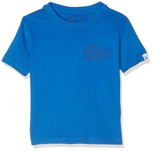 original-penguin-core-t-shirt-garcon-bleu-bleu-vif-2-3-ans
