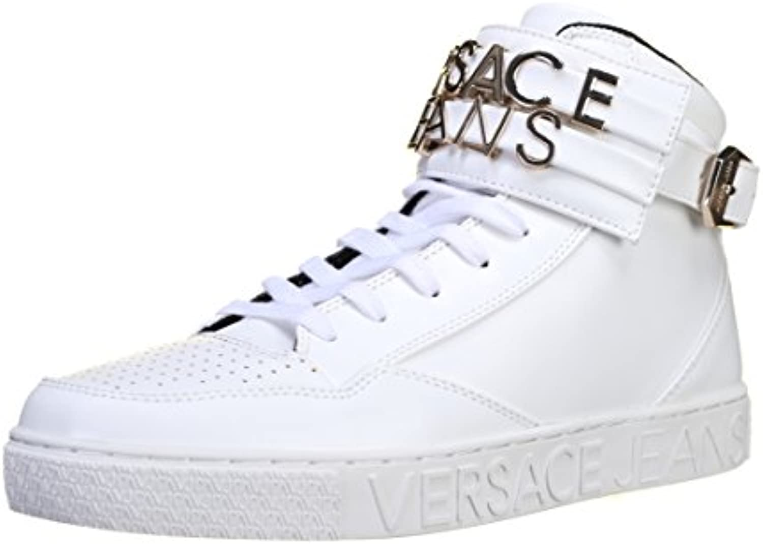 Versace Jeans Linea Sneaker Lettering Coating White E0YOBSE3003  Turnschuhe