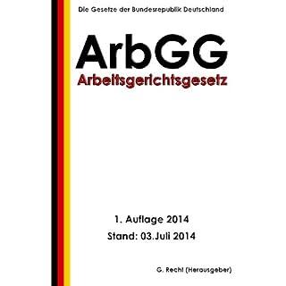 Arbeitsgerichtsgesetz - ArbGG