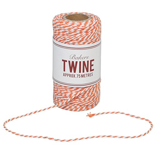 cotton-bakers-twine-75m-choice-of-colour-orange-white-