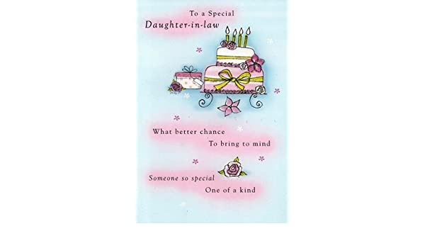 Special Daughter Birthday Glitter Flittered Greeting Card Second Nature Cards Feesten Speciale Gelegenheden