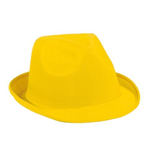 Hut Gelbe Kostüm - noTrash2003 Mallorca-Kracher Ballermann Hut Damen Herren Junggesellenabschied Party Urlaub (Gelb)