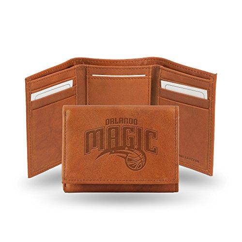 Atlanta Hawks Geldbörse aus geprägtem Leder, Hellbraun, Orlando Magic ()