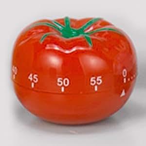 """Kurzzeitmesser / Küchen Timer, """"Tomate"""", Kunststoff, rot"""