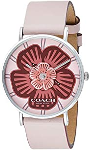 Coach Womens Quartz Wrist Watch, Analog and Leather- 14503231