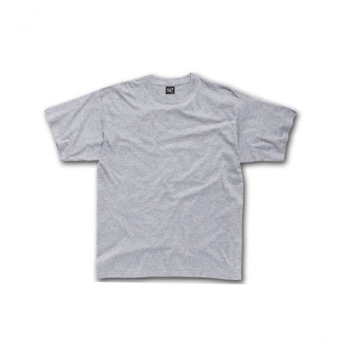 SG - Maglietta 100% Cotone - Uomo Grigio chiaro