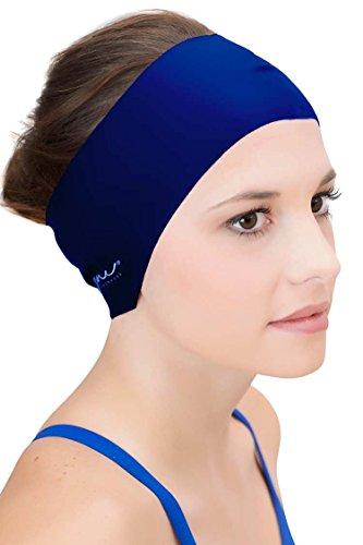 Sync Haar Guard & Haarband–Ohr tragen unter Badekappe als wasserabweisend, Blau, SW-13464-NY (Tyr Guard Womens)