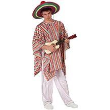 Atosa - Disfraz de mejicano para hombre, talla M/L (19539)