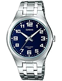 Casio Collection Herrenuhr Analog Quarz mit Edelstahlarmband – MTP-1310PD-2BVEF