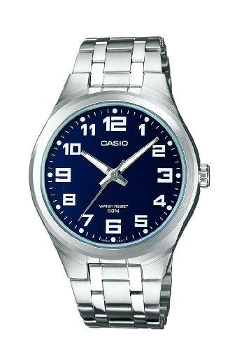 Uhr, Casio Neo-display (Casio Collection Herren Armbanduhr MTP-1310PD-2BVEF)