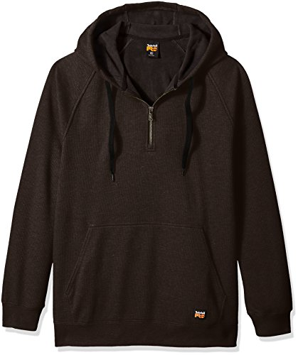Timberland Pro Herren Downdraft Thermal-Bonded Pullover Sweatshirt, Jet Black, X-Large Timberland Pro Thermal