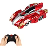 Remote Control Car Wall Climbing Climber Car Toy, Rechargeable Dual Mode 360°Rotating Stunt RC Car Racing Vehicle,LED Head Gravity Defying, Kids Toys For Boys Girls Teenagers Adults Gifts