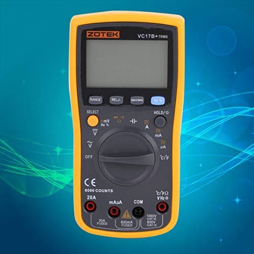 VC17B-AutomaticoManuale-Ampio-display-LCD-digitale-Multimetro-Display-a-bassa-tensione-Strumento-di-misurazione-AC-DC