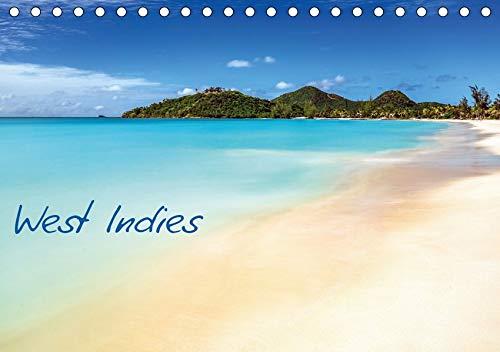 West Indies - Traumziel Karibik (Tischkalender 2020 DIN A5 quer): Drei traumhafte Karibikinseln, die unterschiedlicher nicht sein könnten! (Monatskalender, 14 Seiten ) (CALVENDO Orte)