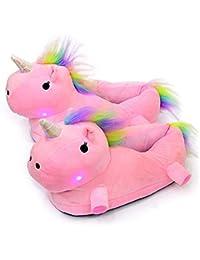 Amazon da unicorno bambina it donna Scarpe Pantofole pantofole w6Y7wcrqp