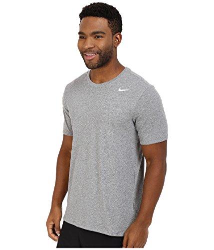 f5cf299ab60ed Nike Herren T-shirt Dri Fit Version 2.0 Grau (Carbon Heather / Carbon  Heather ...