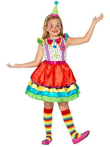 Deluxe Clown Girl - Kids Costume 10 - 12 years