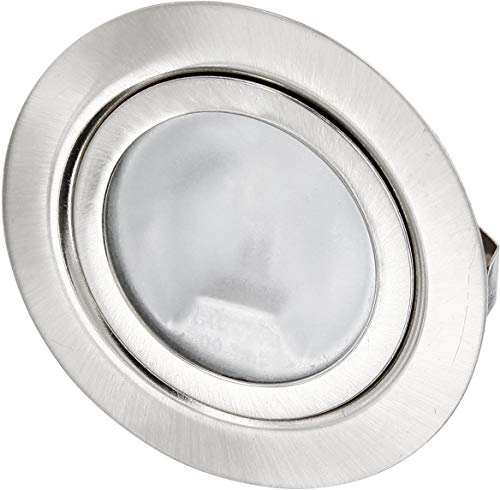 Lámpara de foco empotrable delgado de muebles G4 Aluminio-fundido a presión 12...